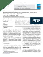 Bemdng Property of Resin Metrix