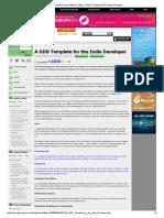 Getting Started Resource 01 Gamasutra_ Jason Bakker's Blog - A GDD Template for the Indie Developer