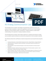 Analog Communication Lab