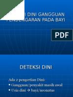 Deteksi Dini Gg Dengar