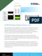 RF Wireless Measurements Communication Lab