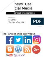 Ethical Implications of Attorney Use of Social Media