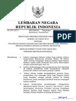 PERPRES No. 138 Th Ttg Tunjangan Bahaya Radiasi