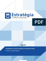 PDF Senado Federal Policia Legislativa 2016 Atualidades p Policia Legislativa Do Senado Federal a (0)