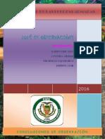 Características de La Observación..