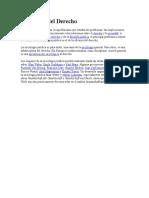 Sociología Juridica
