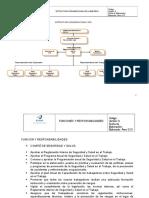 8.- Estructura Organizacional y Responsabilidades de SSO