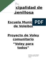 Proyecto de VOLEY