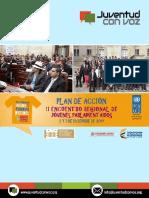 Plan de Accion II Encuentro Jovenes Parlamentarios