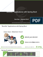 Bootiful Applications With Spring Boot