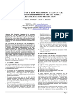 Risk Assessment Calculator - Paper
