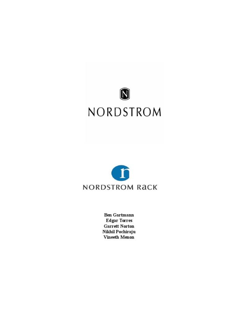 Final Finance Project Nordstrom Nordstrom Retail