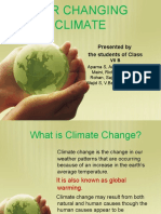Climate Quest Presentation on Climate Change