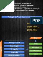 Apresentação Usabilidade e Arquitetura Da Informação