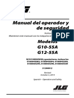 JLG G12 55AOperation 31200812 01-19-15 ANSI Spanish