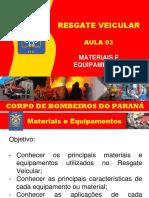 EAD 03 Resgate Veicular
