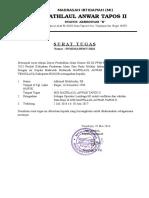 Contoh SK (Surat Tugas) Operator EMIS Pendis 2017