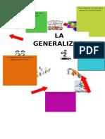 La Generalizacion