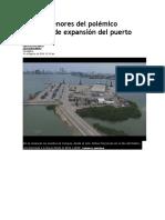 Los Pormenores Del Polémico Proyecto de Expansión Del Puerto Compas