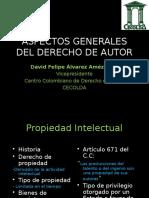 Aspectos Grales Dderecho de Autor
