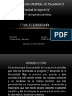 Diapositivas de La Contruccion Del Eurotunel