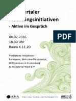 Wuppertaler Flüchtlingsinitiativen (1)
