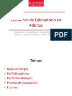 Exámenes de Laboratorio en Adultos