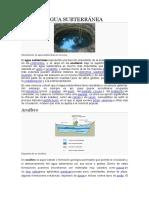 Agua Subterránea (1)