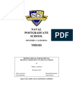 NPS Thesis Regional Proficiency