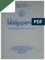 Pasar Karya Kuntowijoyo_Sebuah Novel Diagnostik