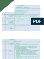 calendario de sesiones b2016b
