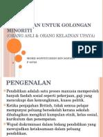 Documents.tips Pendidikan Untuk Golongan Minoriti
