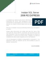 Instalar SQL Server