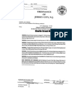 City Council First-Read Ordinances, 05/26/2010 - Jersey City
