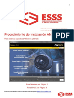 Manual de Intalacion ANSYS 160-Windows&Linux