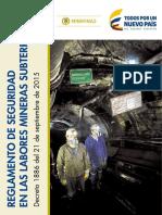 Regla Men to Seguridad Miner i a Sub Terranea