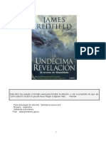 James Redfield - la undécima revelación.doc