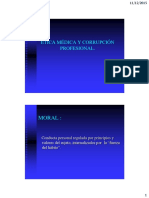 Clase Ética Médica y Corrupción Profesional 2015 (1)