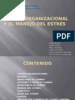 Cambio Organizacional y Manejo del Estres