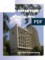 Pre Departure Manual 2016