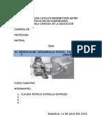 EL PREESCOLAR+DESARROLLO FÍSICO+  COGNOSCITIVO Y LINGÜÍSTICO(2)