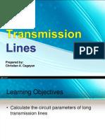 Long Transmission Lines