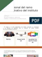 Personal Del Ramo Administrativo Del Instituto