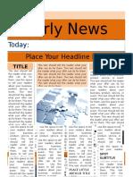 Good Newspaper Report Templates