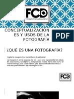 Conceptualizaciones y Usos de La Fotografía / Gustavo Zelaya
