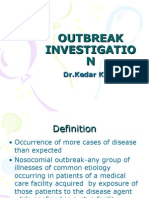 OUTBREAK INVESTIGATION PPT