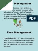 TimeManagement for Teachers