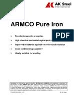 ARMCO Iron Brochure