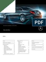 Precios Mercedes Clase S 19-04-16