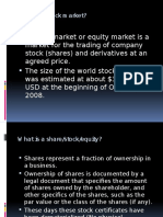 PPT on Stock Market